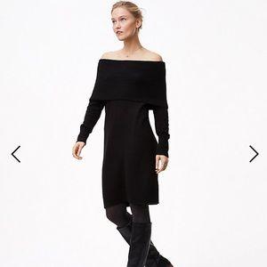 NWT Ann Taylor Wool Blend Sweater Dress XS